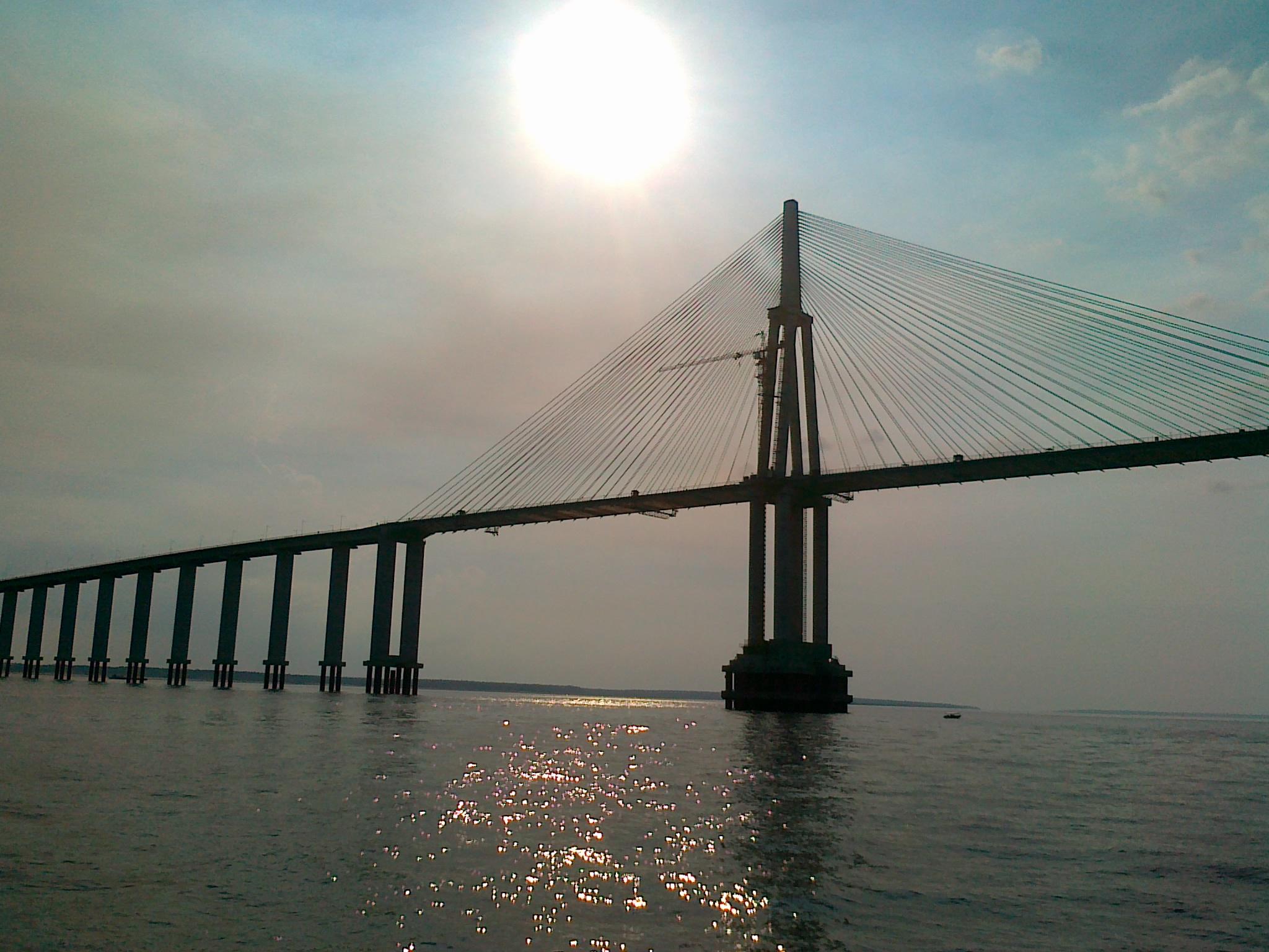 Brücke Rio Negro