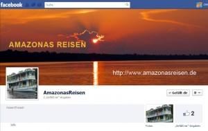 Amazonas Reisen Facebookseite