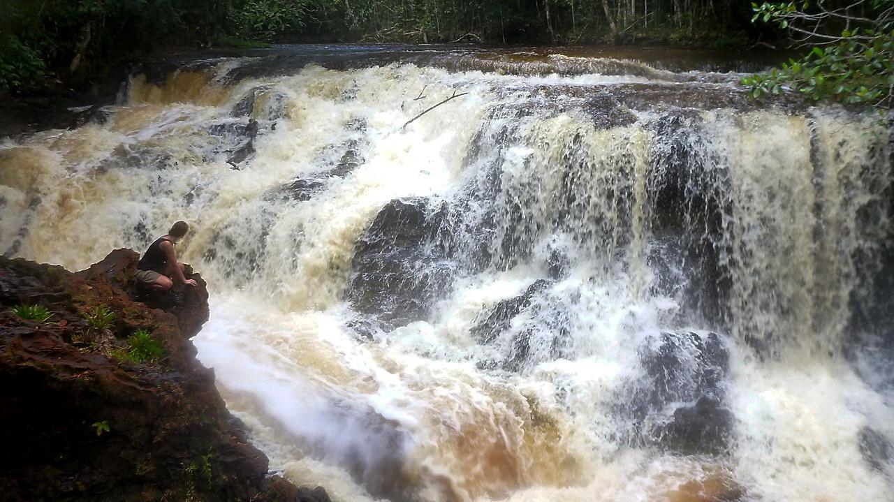 Wasserfall am Rio Negro