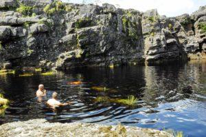 Badesee auf dem Tepui