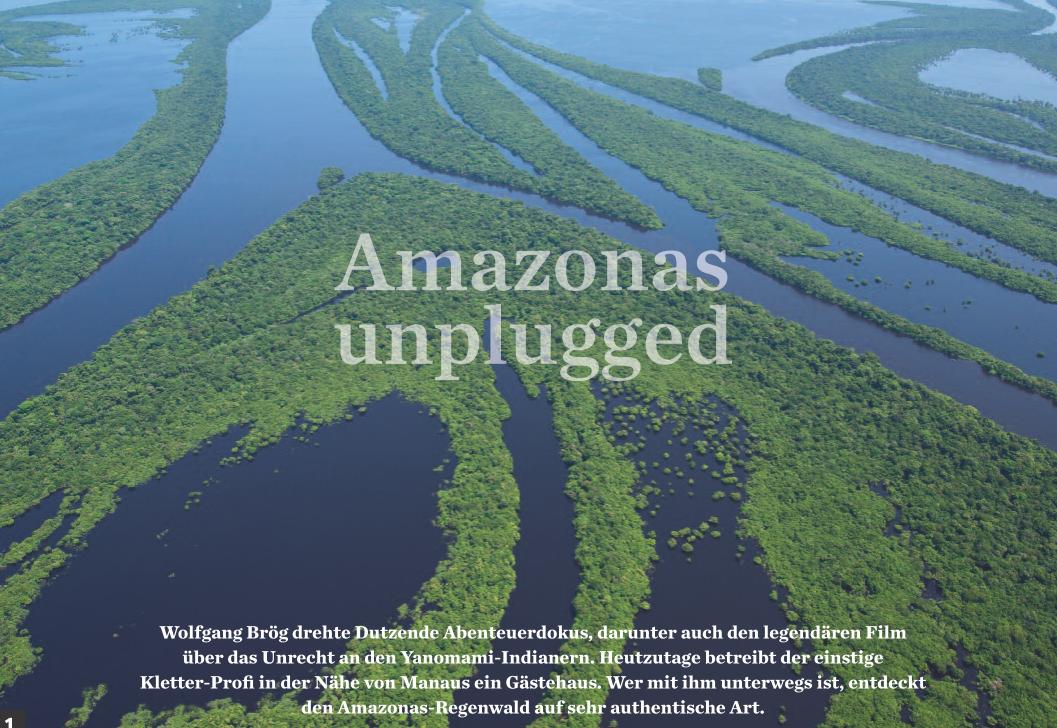 Mit Amazonas Reisen am Rio Negro